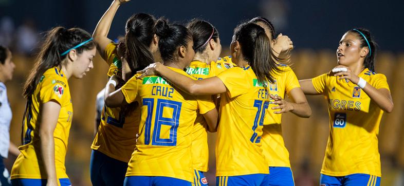 Todo normal: Tigres es el último invitado a las semifinales de la Liga MX Femenil
