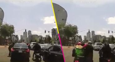 Ladrones usan Uber Eats para asaltar a automovilista en Santa Fe