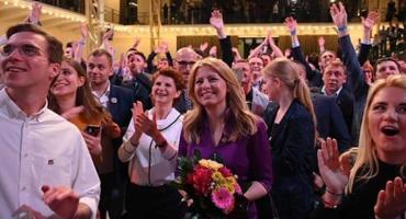 Zuzana Caputova hace historia y se convierte en la primera presidenta de Eslovaquia