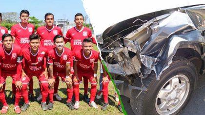 Accidente vial dejó a varios jugadores heridos de un club mexicano de 3ª división