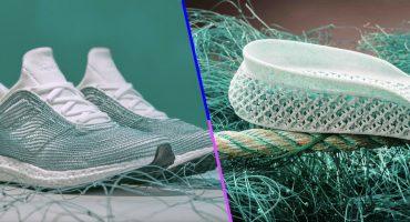 Adidas está elaborando 11 millones de tenis hechos 100% con plástico reciclado
