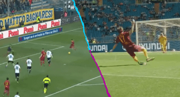 Expectativa vs realidad: Aficionado criticó un gol de la Roma y el club lo llevó al estadio para recrear la jugada