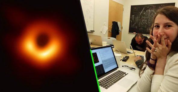 Ella es Katie Bouman, la mujer detrás de la histórica fotografía del agujero negro