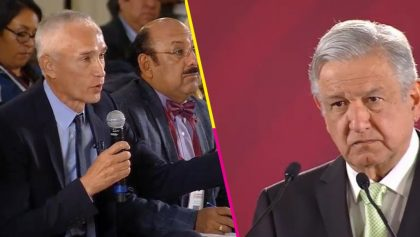 AMLO y Jorge Ramos
