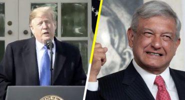 ¿Para qué o qué? AMLO asegura que Trump quiere invertir en el Tren Maya 🤔