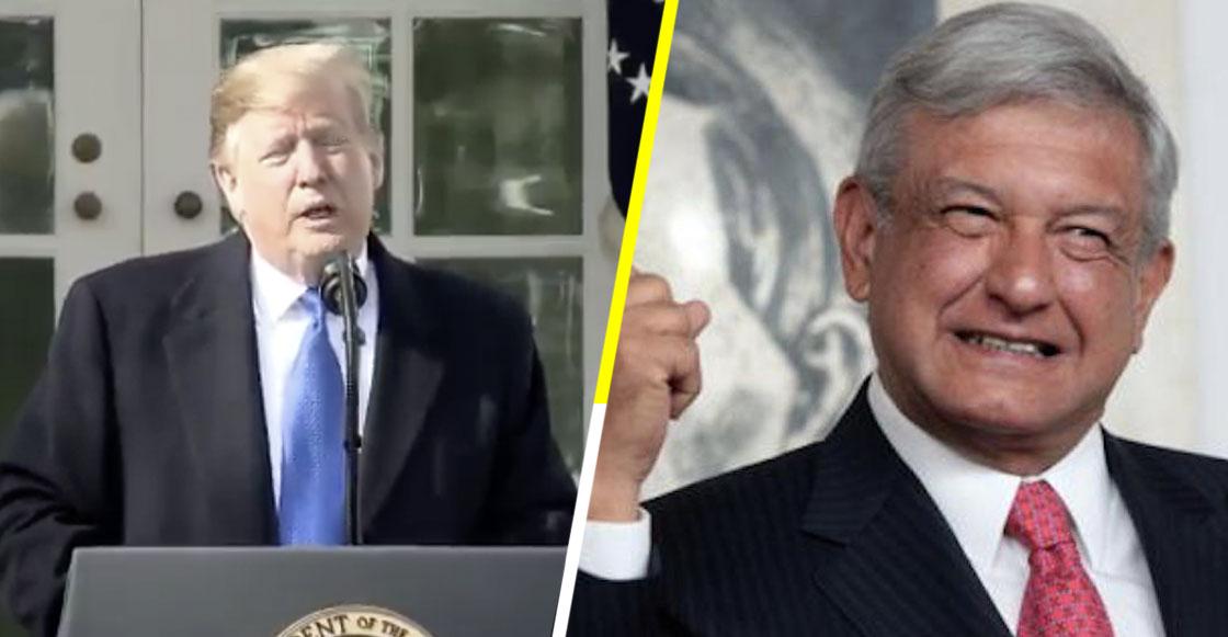 ¿Para qué o qué? AMLO asegura que Trump quiere invertir en el Tren Maya