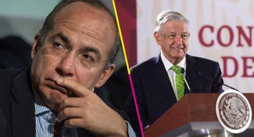 AMLO parafrasea a Jesús; Calderón responde con la Constitución y la Biblia