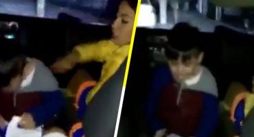 Captan a animadora infantil golpeando e insultando a un niño, en Monterrey 🙄