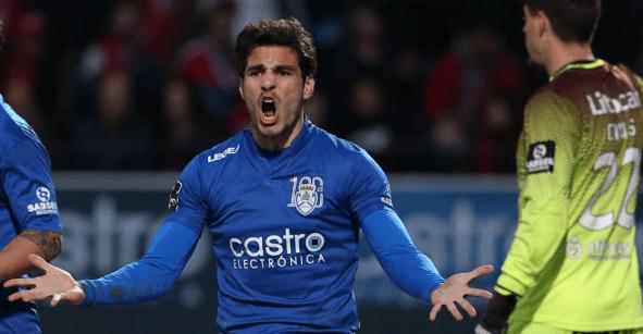 El mexicano Antonio Briseño desciende con el Feirense en la Liga de Portugal