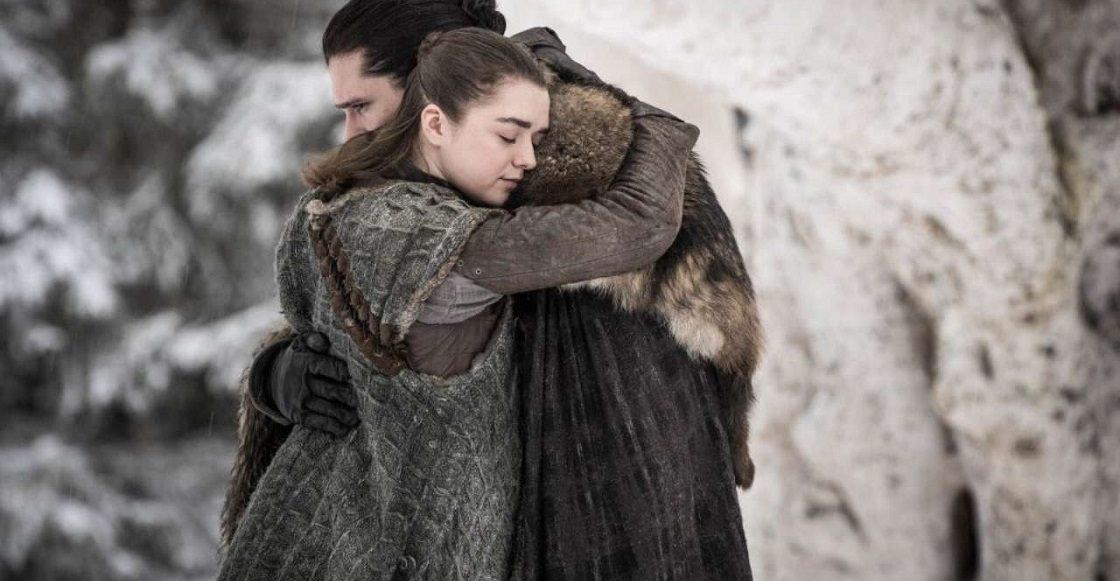 George R.R. Martin - Escrito de Jon Snow y Arya Stark