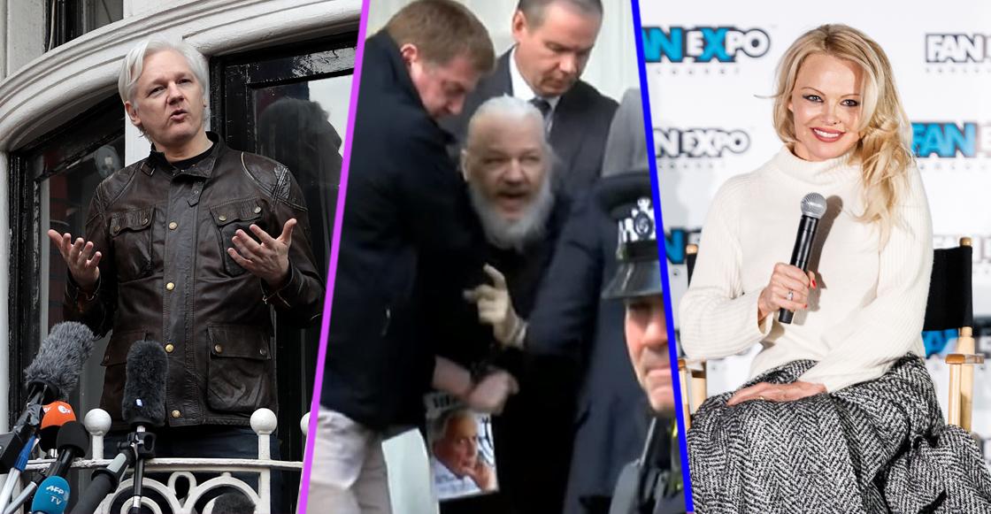 'Eres la perra de América': Pamela Anderson, supuesta pareja de Assange, reacciona a su arresto