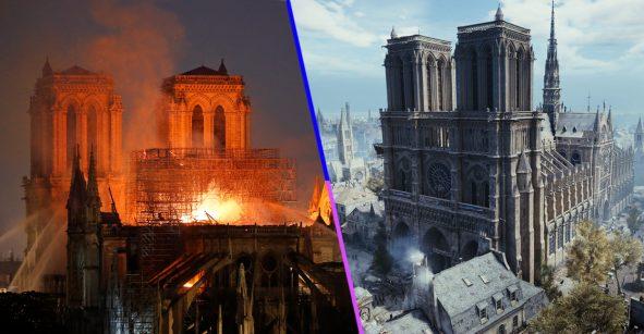 Podrían reconstruir Notre-Dame con ayuda de ¿'Assassin's Creed Unity'?