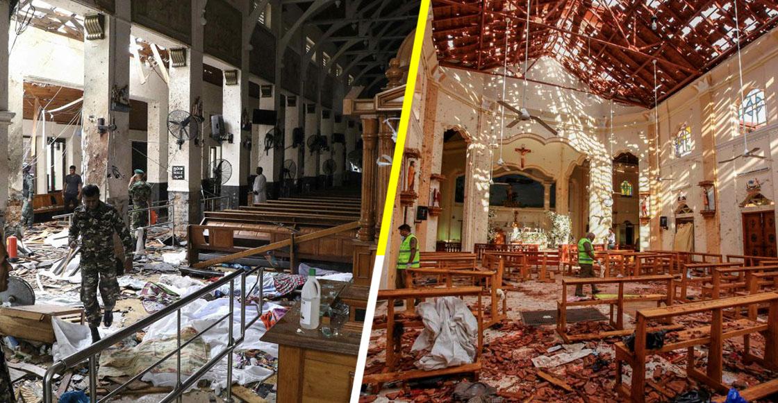 Más de 200 personas muertas y 450 heridas tras una serie de explosiones en iglesias y hoteles de Sri Lanka