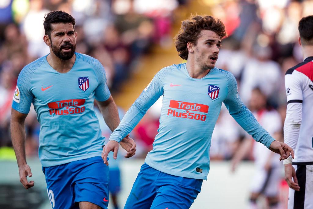 Cavani: El plan del Atlético de Madrid por si se va Diego Costa o Griezmann