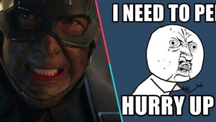 5 escenas de 'Avengers: Endgame' en las que puedes ir al baño
