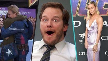 Pedida de mano, primeras reacciones, Gemas y más en el estreno de 'Avengers: Endgame'