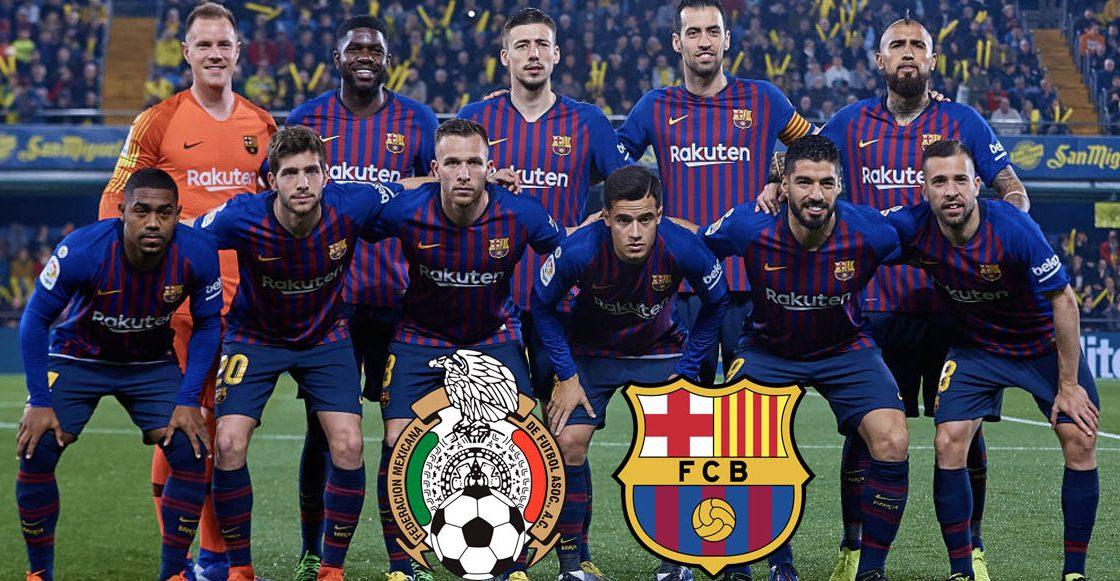 Barcelona analiza jugar en México en los próximos años