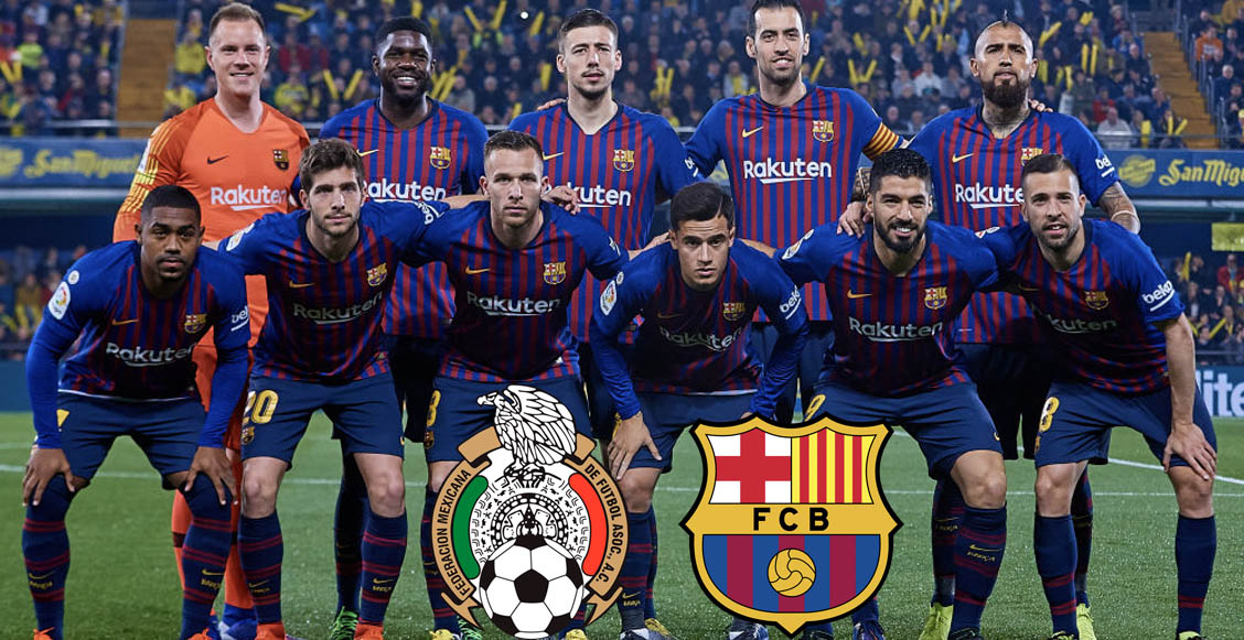 Empiecen a ahorrar, porque Barcelona vendría a jugar a México con todas sus estrellas