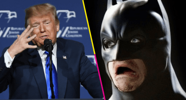 Twitter borra el video Trump por volarse la música de Batman
