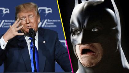 Twitter borra el video Trump por volarse la música de Batman