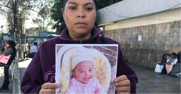 La bebé que robaron afuera de un hospital ya fue encontrada; estaba en Nezahualcóyotl