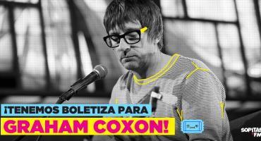 ¿Pensaste que no habría? ¡Tenemos boletos para el concierto de Graham Coxon!