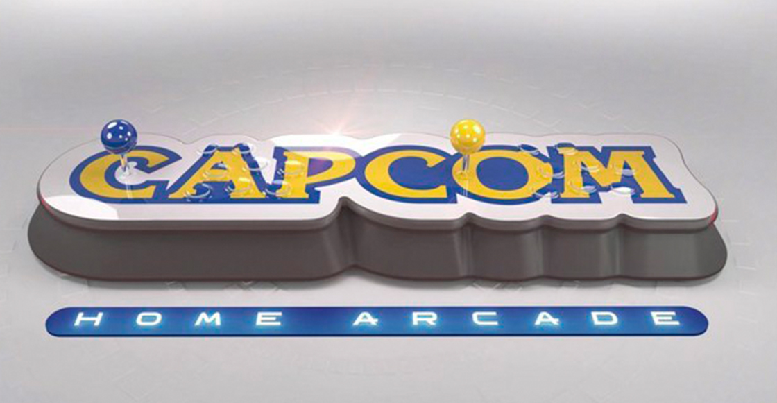 Checa el nuevo joystick de Capcom que recuerda a las viejas máquinas de arcade