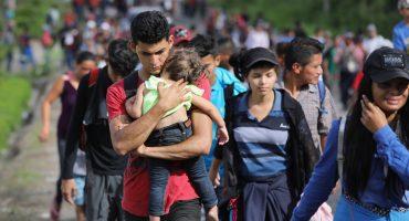 Sale nueva caravana migrante desde Honduras; buscan llegar a Estados Unidos