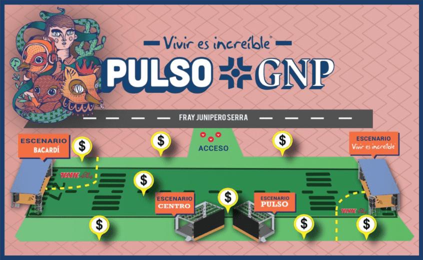 ¡Queretarocks! Esta es la guía de supervivencia para Pulso GNP 2019