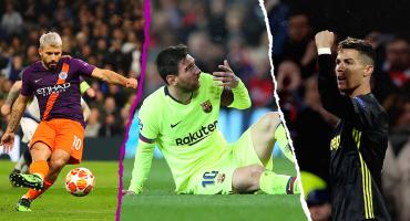 El trancazo a Messi, el regreso de CR7 y el Sergio del mal Agüero: Lo que dejó la Champions