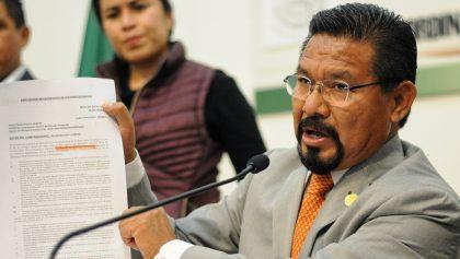 Vinculan a proceso a Cipriano Charrez, diputado desaforado de Morena