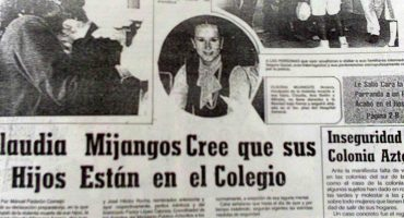 Después de 28 años salió libre Claudia Mijangos, la mujer que apuñaló a sus tres hijos