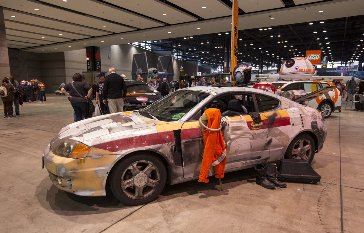 Coches customizados de Star Wars Celebration 2019