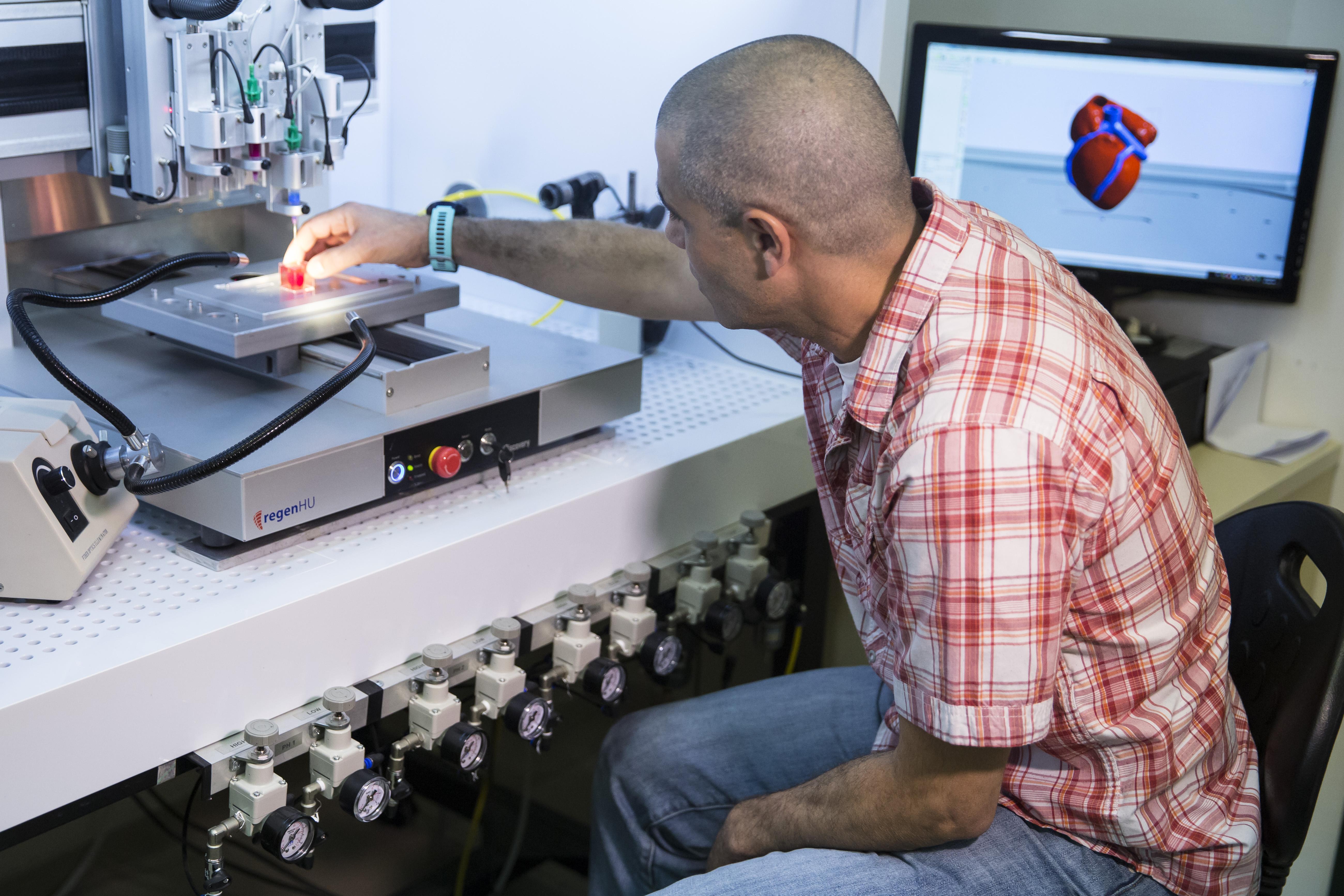 ¡Wow! Por primera vez, logran imprimir un corazón completo en 3D