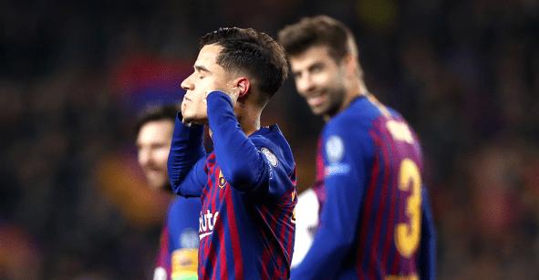 Coutinho explicó el motivo de su controvertido festejo en el Camp Nou