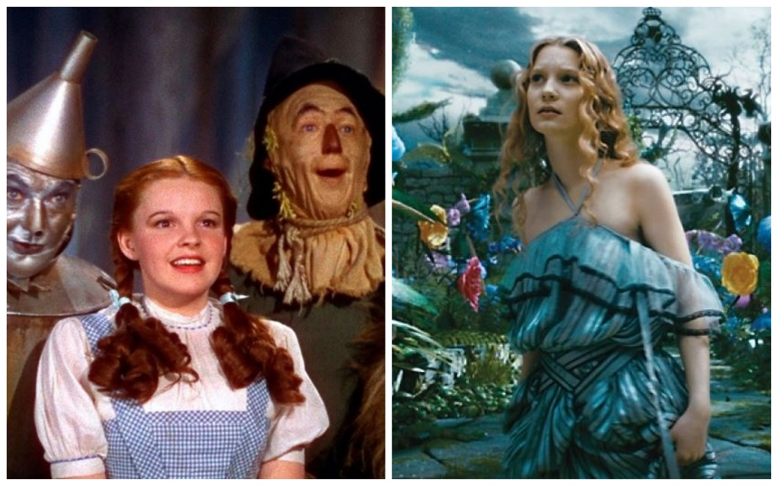 Crossover entre Alice in Wonderland y The Wizard of Oz - Netflix