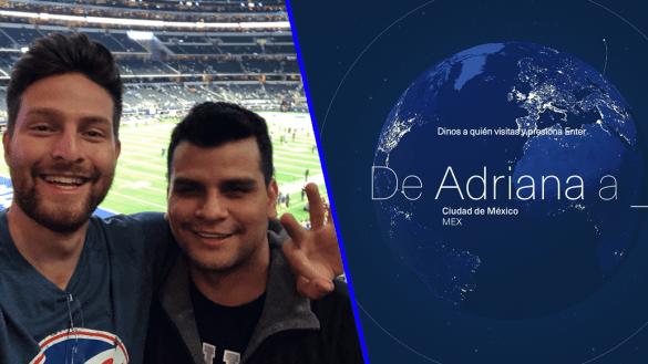 Personas que son destinos: la campaña de Aeroméxico que te unirá con quien más quieres
