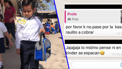 Qué Avengers ni qué nada: niño se disfraza de gerente de Coppel en fiesta escolar