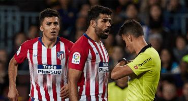 ¡Con razón! Revelan las cositas que le dijo Costa al árbitro del Barcelona vs Atlético 😱