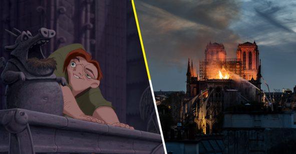 Disney donará dinero para la reconstrucción de Notre-Dame porque 'El jorobado'