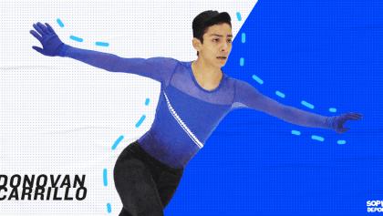 Entrevista: ¿Por qué el mexicano Donovan Carrillo patina con canciones de Juan Gabriel?