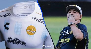 Dorados presenta su nueva playera albiceleste en honor a Maradona