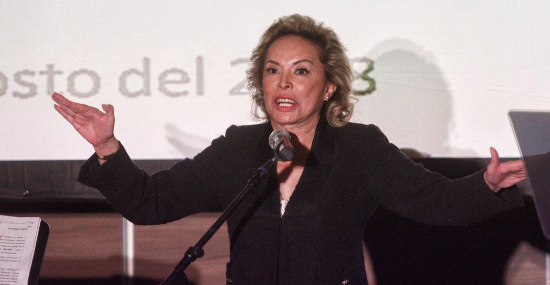 Tras amparo, devuelven bienes incautados a Elba Esther Grodillo