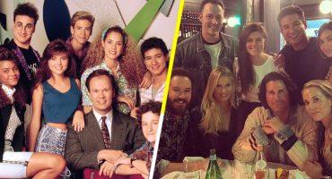 ¡El elenco de 'Salvados por la Campana' se reúne después de 25 añotes!