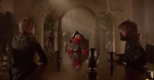 Plaza Sesamo is coming: Elmo llega a King's Landing para aconsejar a Tyrion y Cersei Lannister