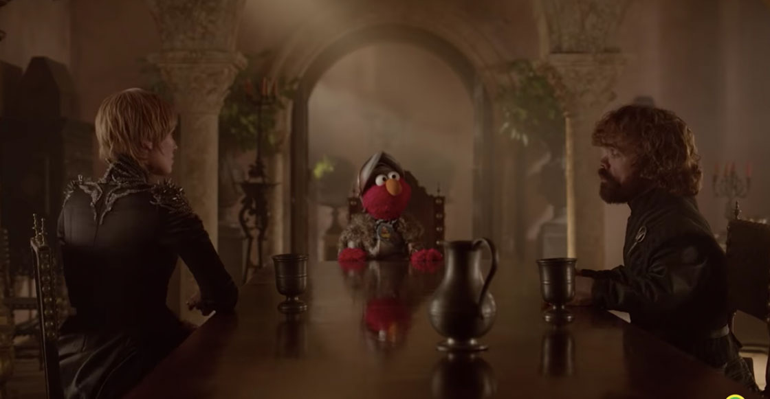 Plaza Sesamo is coming: Elmo llega a King's Landing para aconsejar a Tyrion y Cersei Lannister
