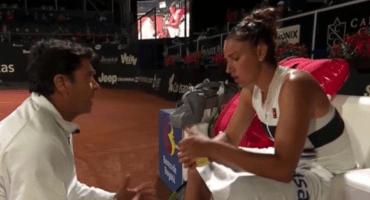 """El controvertido regaño del entrenador a Sara Sorribes: """"¿Me pongo la faldita y juego yo?"""""""