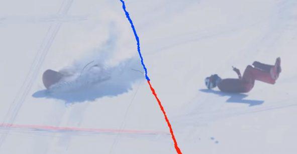 Esquiador se debate entre la vida y la muerte tras sufrir dura caída a 170 km/h