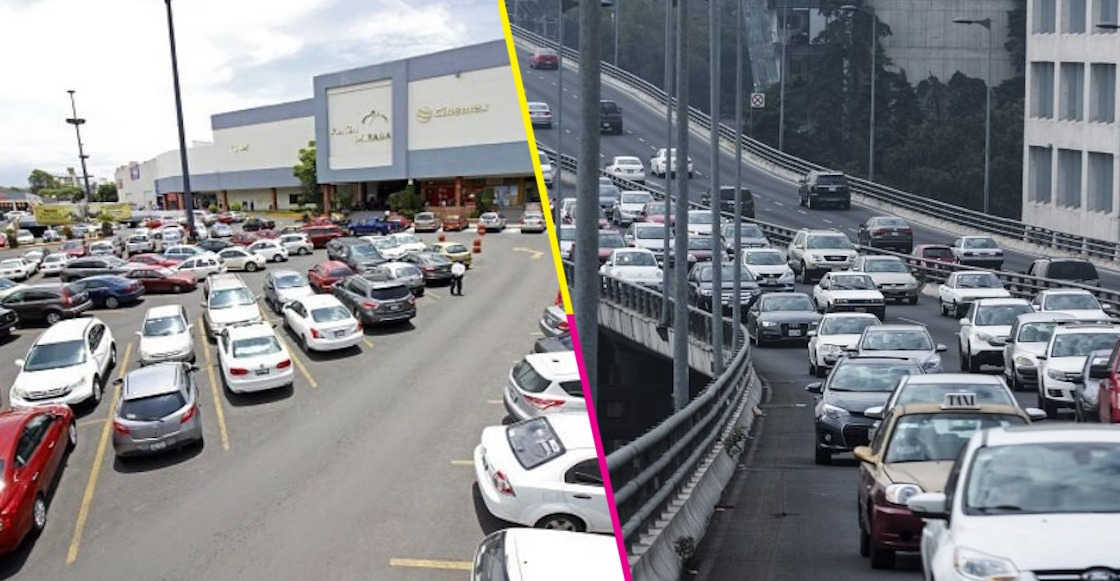 Estacionamiento segundo piso CDMX