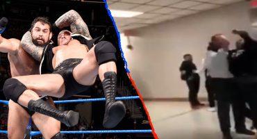 Estudiante es arrestado por hacerle un 'RKO' a su director, movimiento de Randy Orton de la WWE